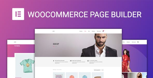 WooCommerce Page Builder pour Elementor