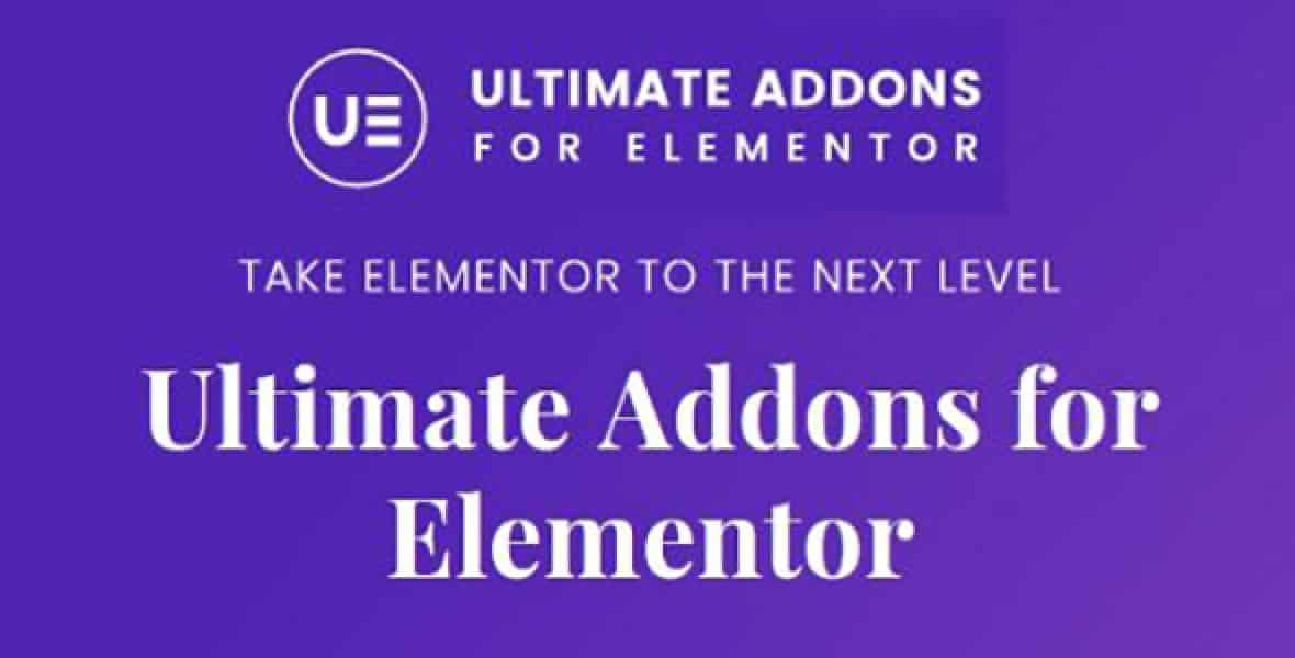Ultimate Addons pour Elementor