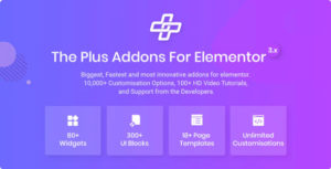 The Plus – Addon for Elementor